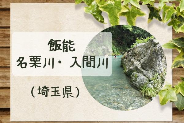 飯能の名栗川(入間川)河原で川遊び☆駐車場だけ利用は清流園がおすすめ!
