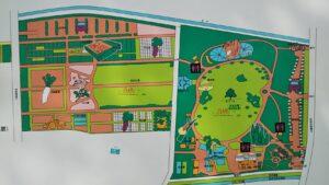 市民の森案内図1